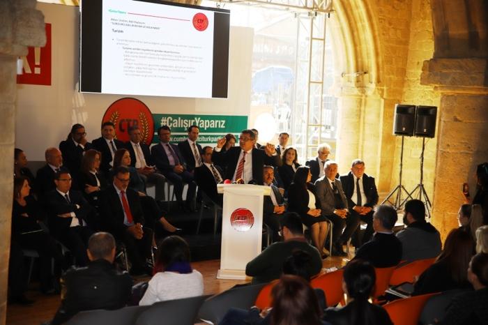 Erhürman - Ekonomik ve Sosyal Kalkınma Programını açıkladı (3)